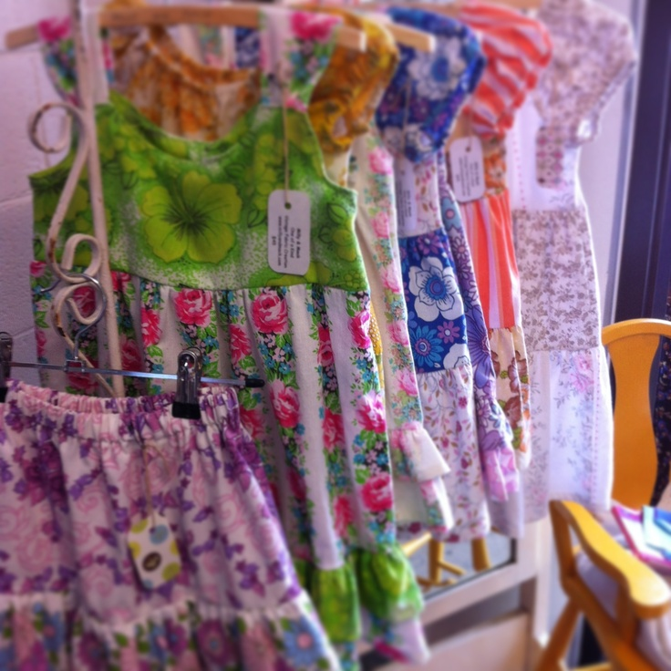 Milly and Mack vintage girls dresses