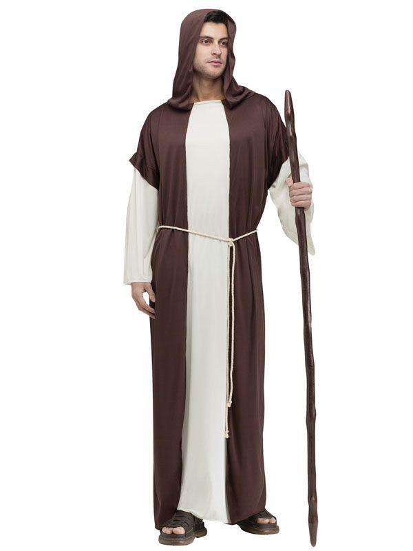 Joseph biblisches Kostüm Weihnachten braun-beige aus der Kategorie Karnevalskostüme / Weihnachtskostüme. Kein Krippenspiel ohne Joseph!