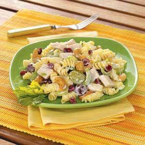 Cashew-Chicken Rotini Salad Recipe from Taste of Home