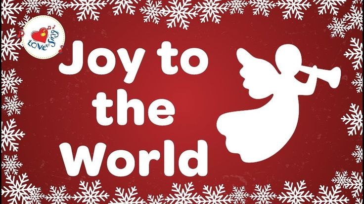 Joy to the World Christmas Carol with Lyrics 2019   Karácsony, Dália