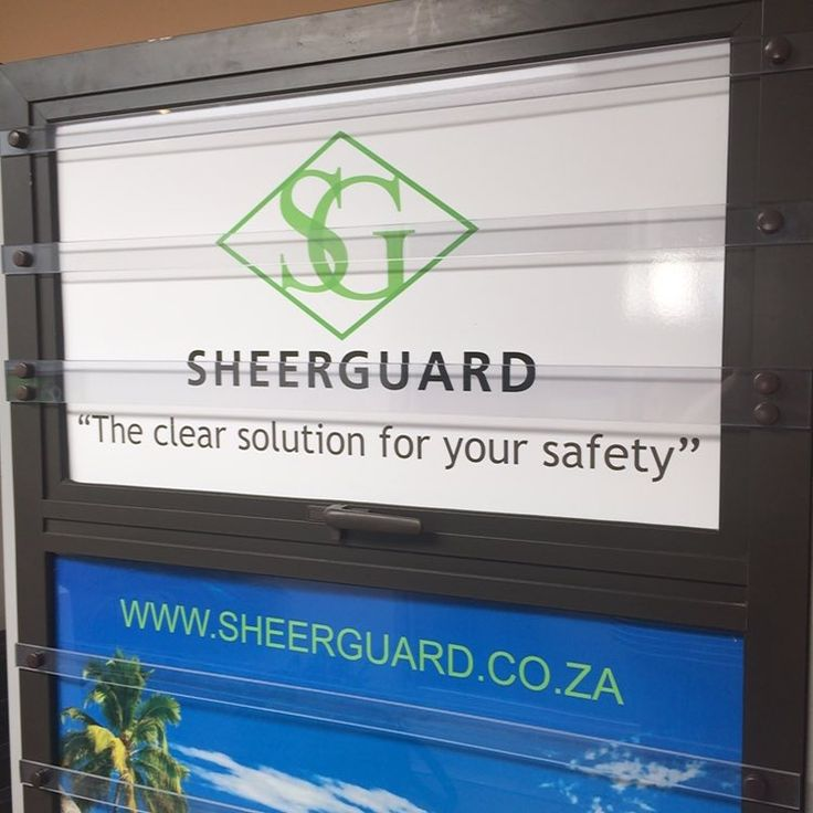 """#clearburglarbar range from #Sheerguard #safety #security #burglarproofing"""