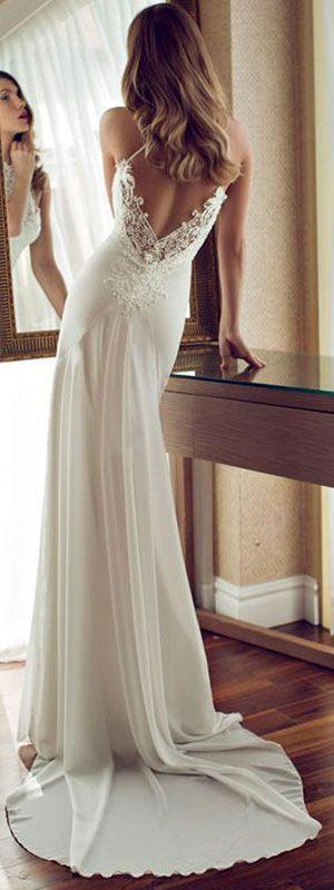 pulchritudinous  wedding dresses 2016 lace sleeves long wedding dress 2017