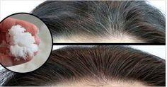 Como escurecer os cabelos com apenas 2 ingredientes - 100% natural!