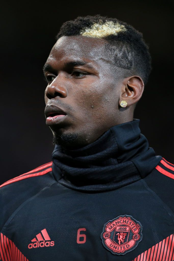 Manchester England October 02 Paul Pogba Of Man Utd Wears An Emoji Earring During The Warm Up Ahea Paul Pogba Paul Pogba Manchester United Pogba Manchester