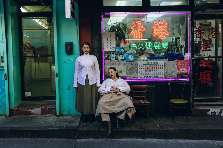 Oyster Fashion: 'Chinatown' Shot By Lily Cummings | Fashion Magazine | News. Fashion. Beauty. Music. | oystermag.com