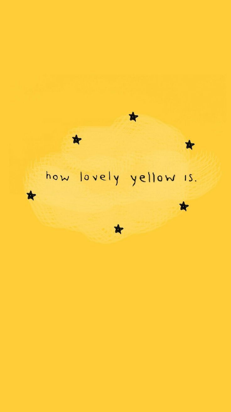 Quotes Illustrations: how lovely yellow is – #aest…