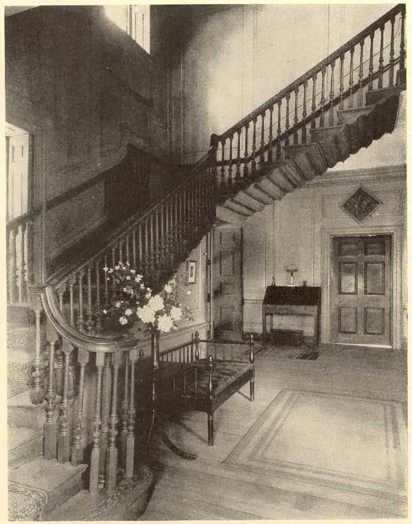 The famous flying staircase. Shirley Plantation. http://www.shirleyplantation.com