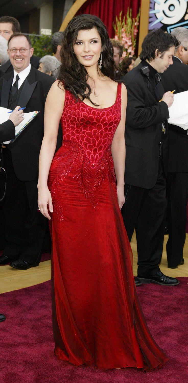 Catherine Zeta-Jones, 2004  In Versace.