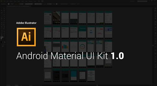 Android Material Illustrator Kit