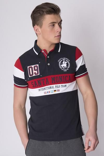 GLADSTONE POLO SHIRT DARK NAVY