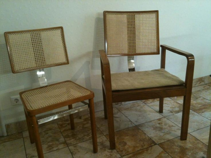 Chairs from Heisler ;Budapest,after 1932.