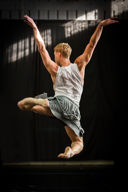Sydney Dance Company rehearsing Rafael Bonachela's choreography for our collaboration - Project Rameau. Photo credit Peter Greig.