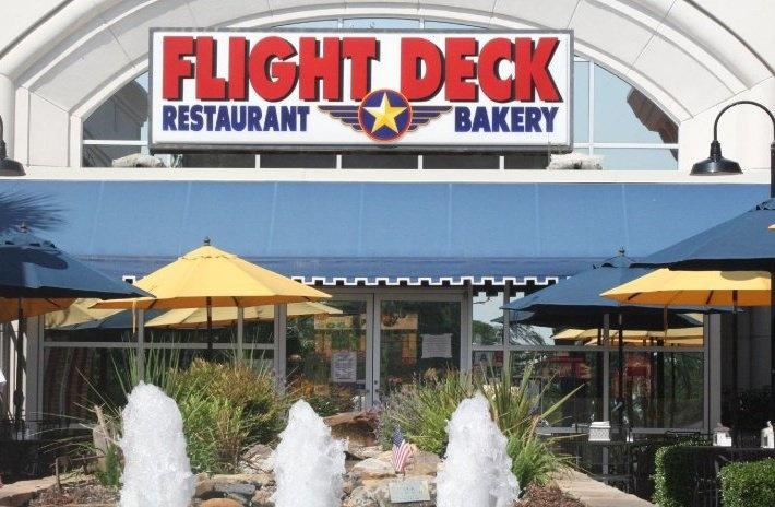 Flight Deck Restaurant in Lexington, SC.......yeah, boy!!!