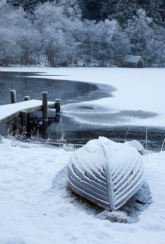 Winter, Loch Ard by Alan Cameron on 500px
