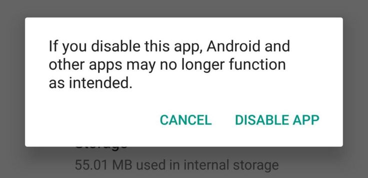 How To Disable A Stock App On Android [No Root]