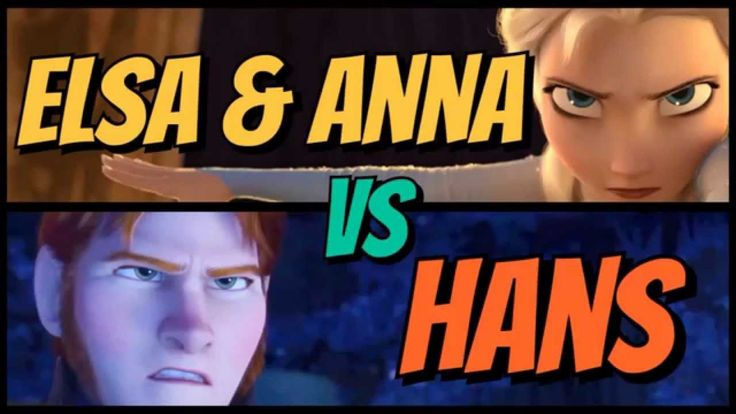 Disney Movie Showdowns: Frozen's Elsa & Anna VS Hans. In the controversial 6th eppy of Disney Showdowns, Megabucks & Tycoon ask questions like: Why doesn't Elsa use her ice powers to inflict some serious damage on the guards during her fight scene? Is Hans even that big of a threat? Watch now:   #Disney #DisneyFrozen #FrozenMovie #Frozen #AnnaFrozen #PrincessAnna #QueenElsa #ElsaFrozen #PrinceHans #ILoveDisney #DisneyMovies #DisneyPodcast #DisneyFans #LetItGo #FrozenRant #UnpopularOpinions