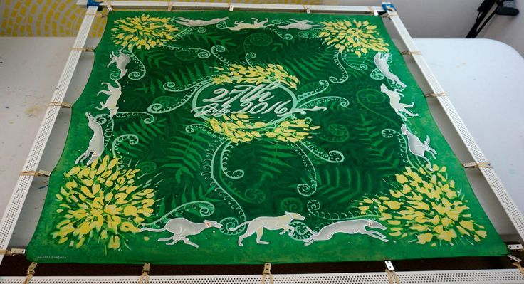 Great blog post all about traditional style #SilkPainting using #JacquardProducts! #serti