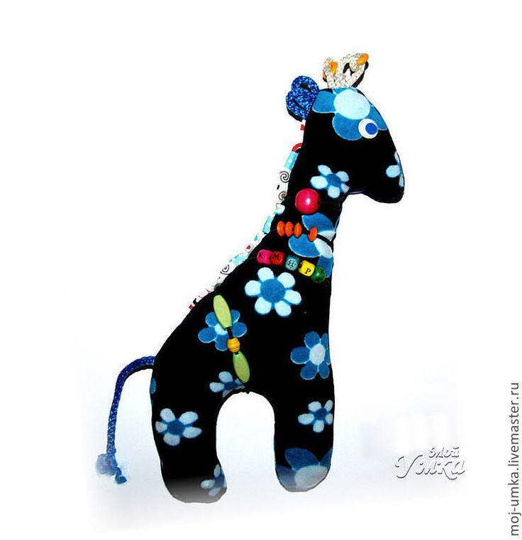 """Купить Мягкая развивающая игрушка """"Жирафик Василек"""" - жираф, жирафик, Пятнистый, развивающая игрушка"""