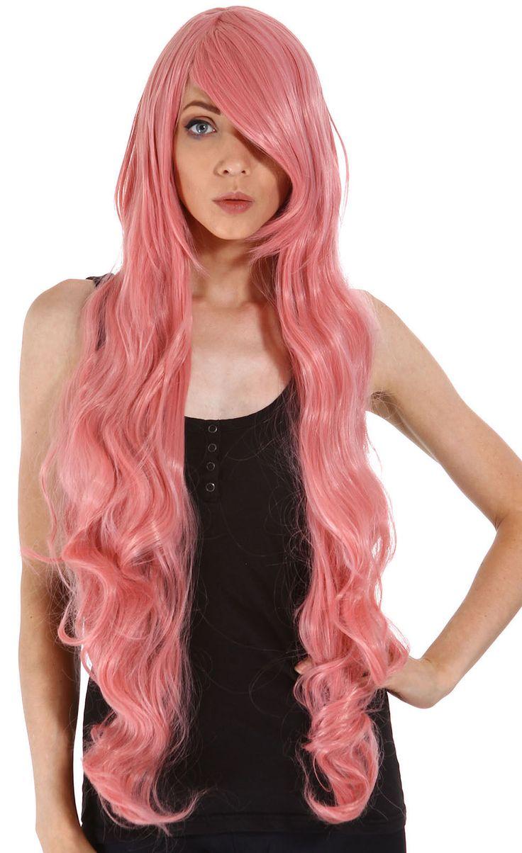 pink anime girl wig