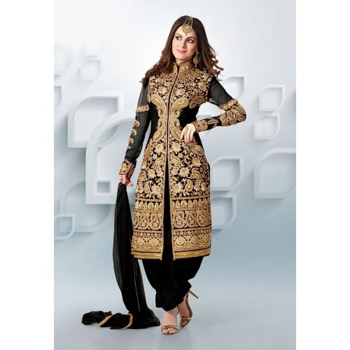 New Stylist Black Color Patiyala Type Shervani Dress_sv50 Saiveera Fashion is a #Manufacturer Wholesaler,Trader, Popular Dealar and Retailar Of wide Range Salwar Suit, Dress Material, Saree, Lehnga Choli, Bollywood Collection Replica, and Also Multiple Purpose of Variety Such as Like #Churidar, Patiala, Anarkali, Cotton, Georgette, Net, Cotton, Pure Cotton Dress Material. For Any Other Query Call/Whatsapp - +91-8469103344.