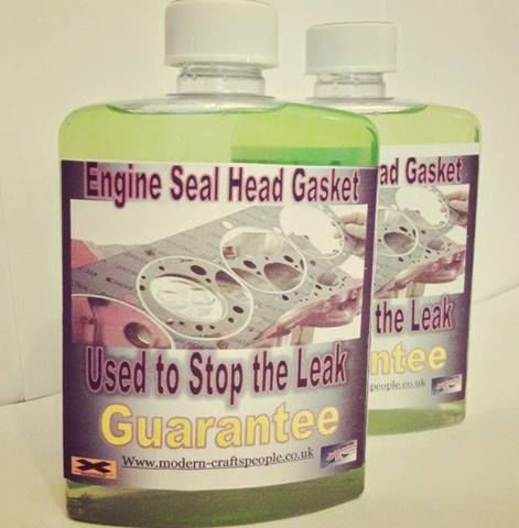 Engine Seal: Cracked Cylinder Heads, Blown Head Gaskets, All Block Leaks.Guarant