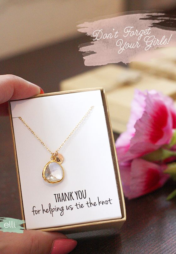 Bridesmaid Jewelry Your Girls Will Love As A Gift | The Elli Blog