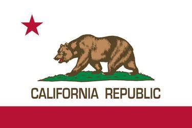 California Republic state flag - Authentic Version