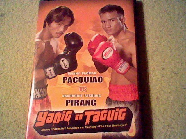 Yanig Sa Taguig Manny 'Pacman' Pacquiao vs Narongrit 'Fashung' Pirang (DVD)