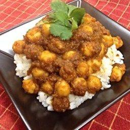 Chana Masala (Savory Indian Chick Peas)