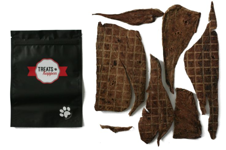 Treats Happen Dehydrated Beef Lung 125g
