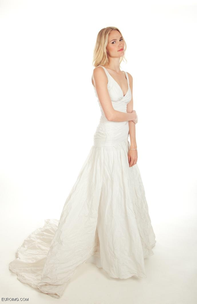 Nicole Miller Bridal Spring 2014  #weddinggown.  Available at Jacklynn Bridal. www.jacklynnbridal.com