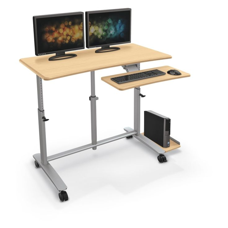 Ergo F. Easy Sit-Stand Workstation - Available through MeTEOR Education