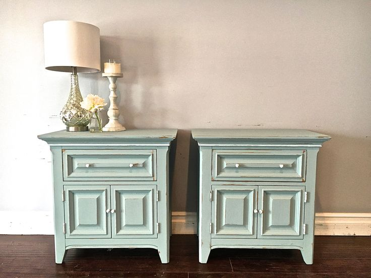 Best Light Blue White Nightstands 200 Sold With Images 400 x 300