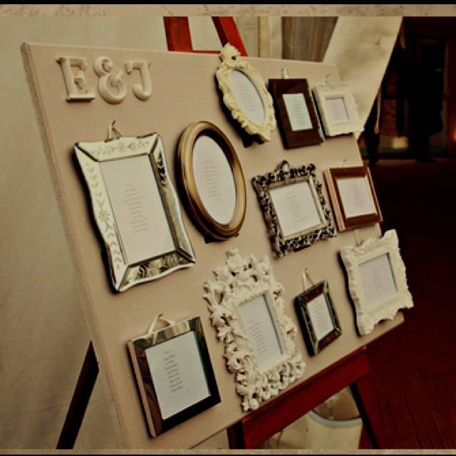 Place card board!!