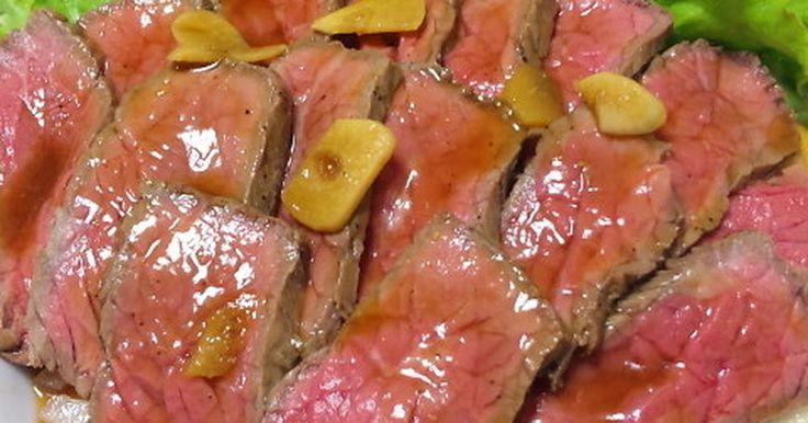 2011年12月にクックTVにて放送!2014年お肉レシピ本掲載★フライパン1つで簡単にローストビーフを作ります♪