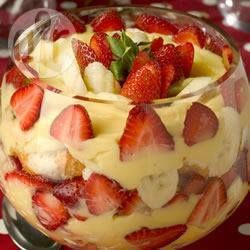 Bagatelle fraises-vanille @ qc.allrecipes.ca