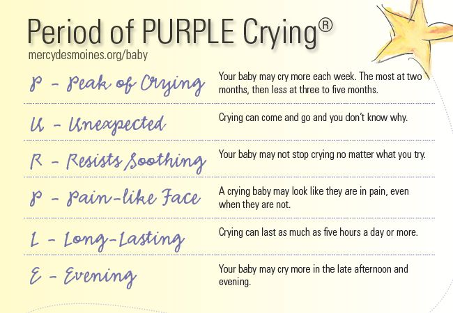 Raise awareness about the Period of PURPLE Crying© to prevent Shaken Baby Syndrome. The Period of PURPLE Crying© is the phrase used to describe the point in a baby's life when they cry more than any other time. PURPLE is an acronym to explain the symptoms.Raised Awareness, Purple Cry, Baby Syndrome, Shaken Baby, Cancer Suck, Mercy Medical, Prevention Shaken, Baby Life, Baby'S Life