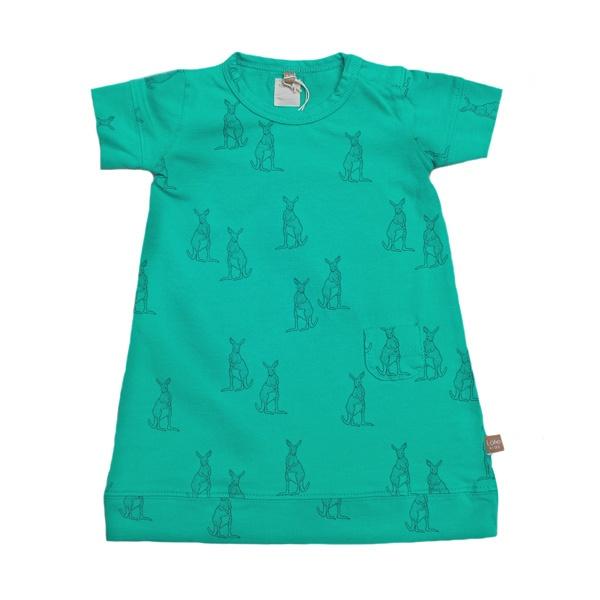 New! Turquoise dress kangaroos