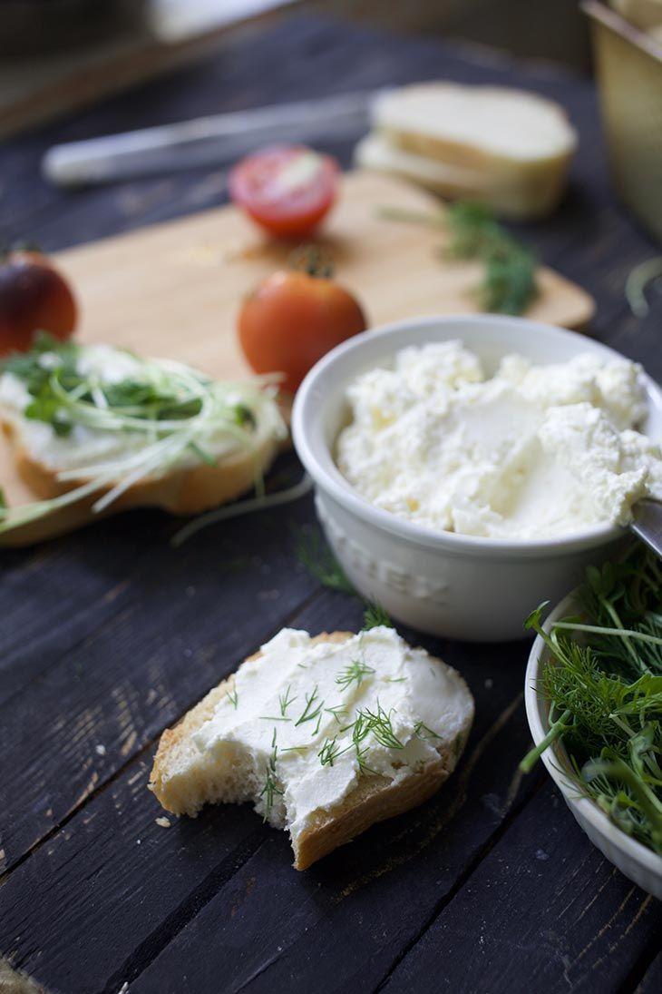 Vegan Cream Cheese Cultured With Probiotics Recipe Vegan Cream Cheese Vegan Yogurt Recipes