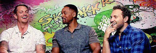Jai Courtney Kinnaman Will Smith Suicide Squad
