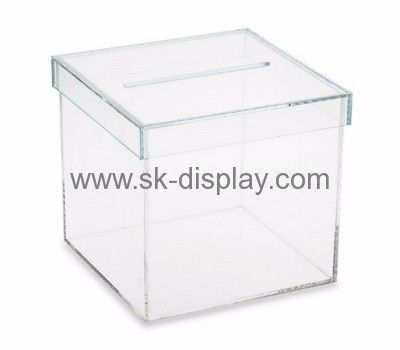 Box manufacturer custom acrylic storage boxes with lid DBS-220