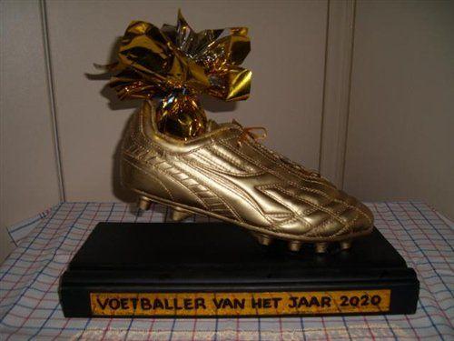 Gouden Voetbalschoen als sinterklaassurprise