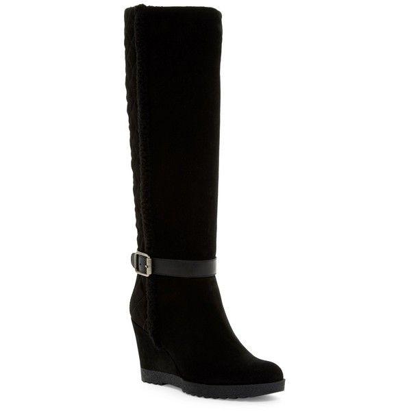 Best 25  Knee high wedge boots ideas on Pinterest | High wedges ...