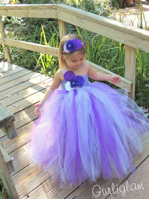 Best 25+ Purple flower girl dresses ideas on Pinterest ...