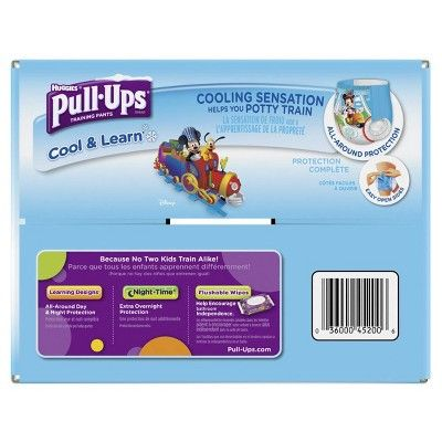 Huggies Pull-Ups Boys Cool and Learn Training Pants Giga Pack 3T-4T (66 ct)