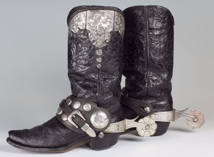 Edward H. Bohlin Boots and Spurs | Western Cowboy Boots ...