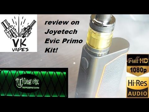 Vk vape's on Joyetech evic Primo kit (full review) Greek