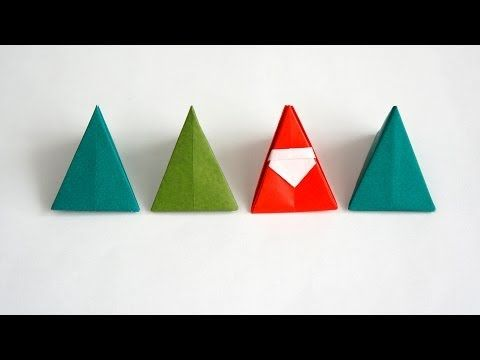 Christmas Origami: Santa and Elf - YouTube