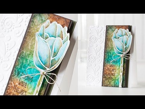 A Video by Shari Carroll showing how she created her gorgeous card using PaperArtsy Exclusives available at Simon Says Stamp.  Stamptember 2014