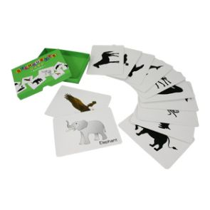 Silhouette Card: Animals (Free Printables)